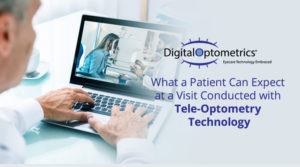 what a patient can expect at a visit conducted with tele-optometry technology